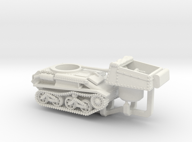 Vickers Light Tank MkV (2pdr) in White Natural Versatile Plastic