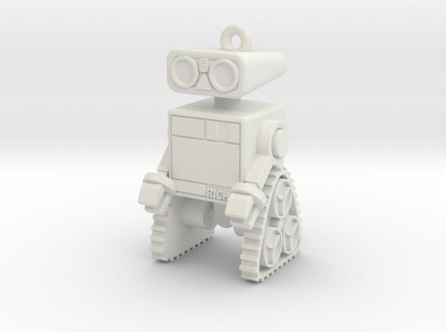 Robot-Type-2 v14.1 in White Premium Versatile Plastic