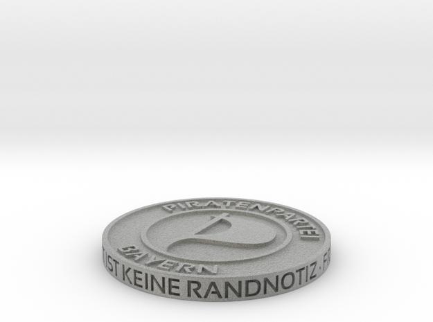 Piratenmünze 4cm 3d printed