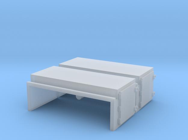 EMD Short Square Air Filter Hatch (N - 1:160) 2X in Smoothest Fine Detail Plastic