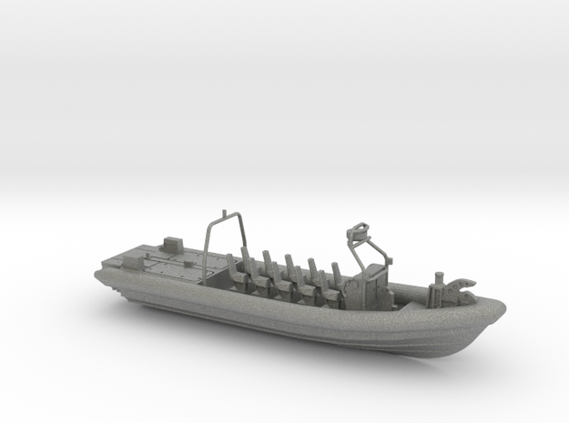 FRISC 1200-SF RHIB in Gray PA12: 1:100