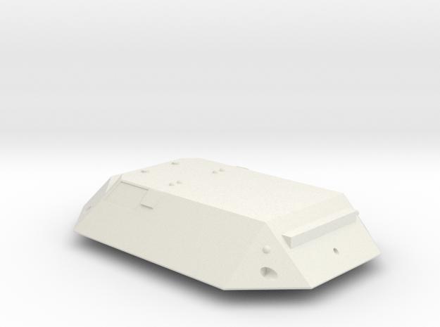 3788 Scale Jindarian Light Strike Cruiser SRZ in White Natural Versatile Plastic