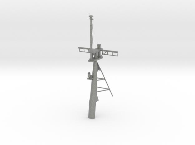 1/96 scale Hamilton Mast - Rear in Gray PA12