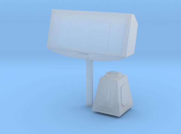 1/96 scale EADS TRS-3D (AN/SPS-75) Radar in Smooth Fine Detail Plastic