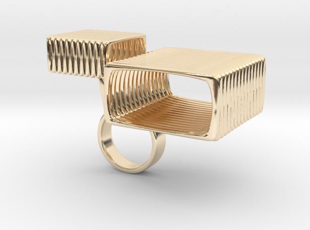 Wacube - Bjou Designs in 14k Gold Plated Brass