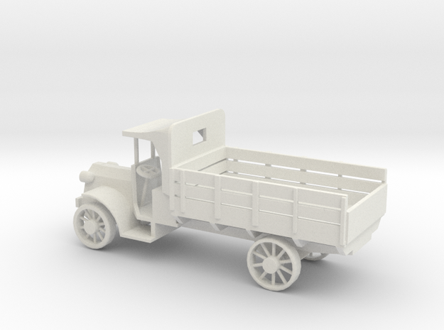 1/100 Scale Packard 1.5 ton GS 1917 in White Natural Versatile Plastic
