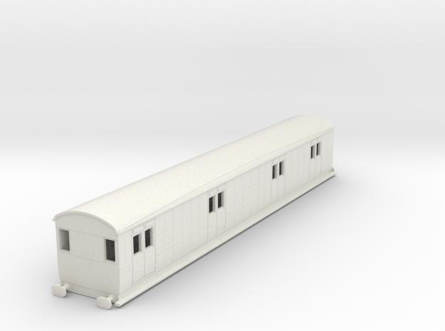 0-87-secr-iow-passenger-brake-van in White Natural Versatile Plastic