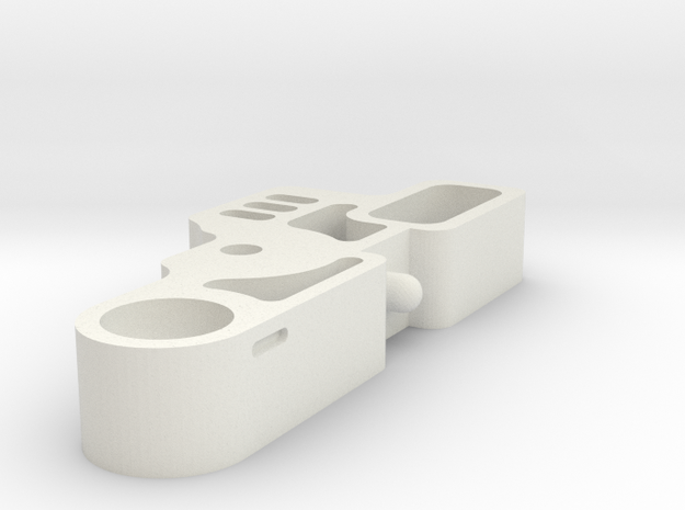 E3D Titan Aero Idler Arm Rev 1 in White Natural Versatile Plastic