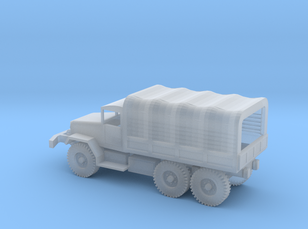 1/110 Scale M34 Cargo Truck with cover in Smooth Fine Detail Plastic