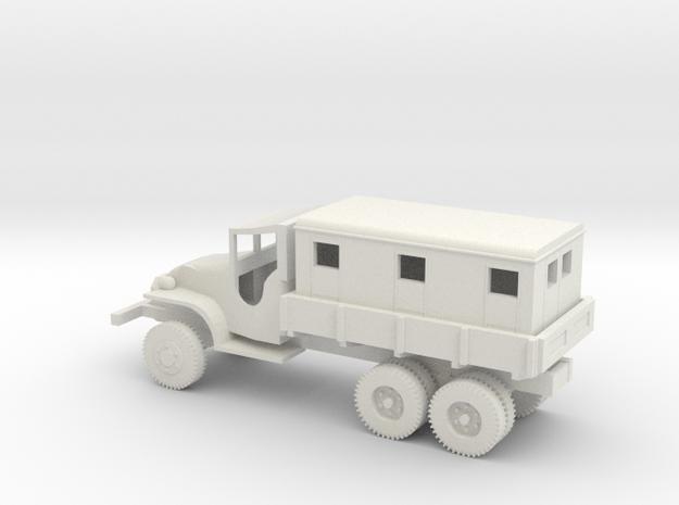 1/72 Scale GMC CCKW 2.5 ton Van in White Natural Versatile Plastic