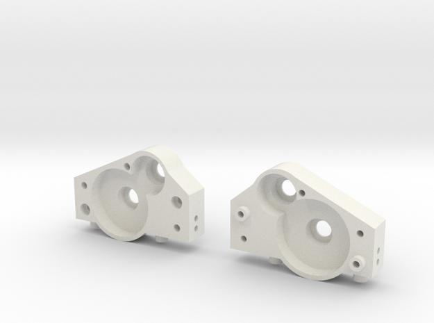 Verteilergetriebe V2 in White Natural Versatile Plastic