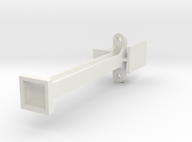 End Stanchion Hornby Dublo Engine Shed in White Natural Versatile Plastic