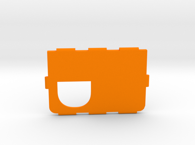 Mark IV Cover D in Orange Strong & Flexible Polished