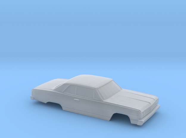 64 Chevelle 1-87 in Smooth Fine Detail Plastic