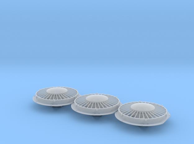 "48"" Cap Top Radiator Fan 1/48 in Smoothest Fine Detail Plastic"