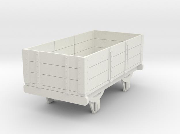 0-re-32-eskdale-3-plank-wagon in White Natural Versatile Plastic