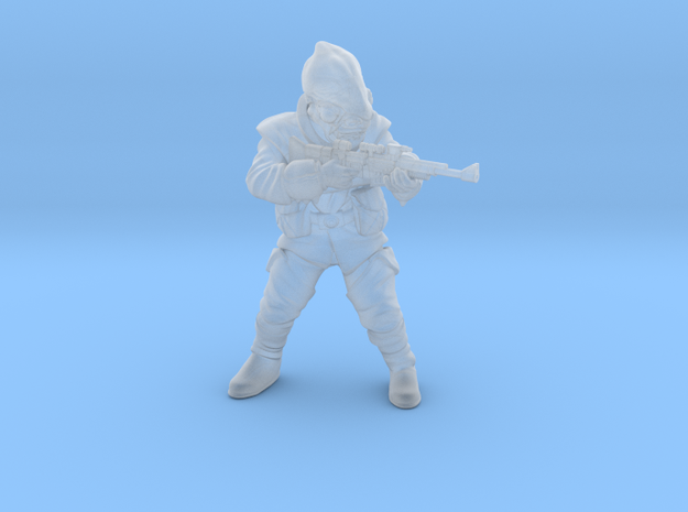 Squid Operative in Smooth Fine Detail Plastic