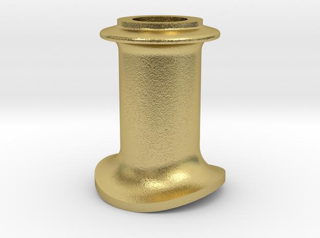 schoorsteen NS 2100 in Natural Brass