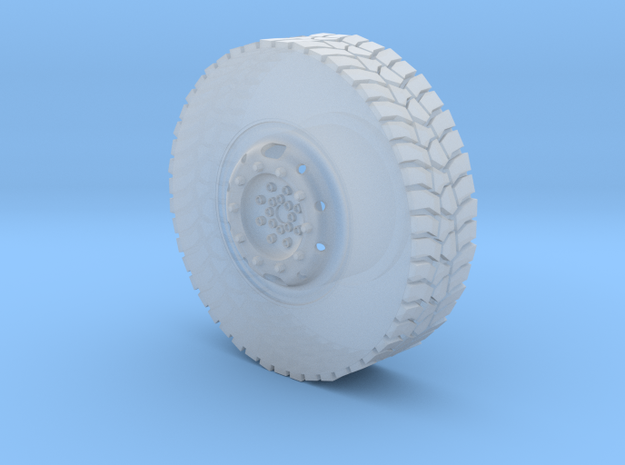 1/35 Australian Army Unimog 1700 Wheel in Smoothest Fine Detail Plastic