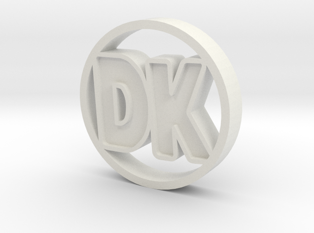 """DK Coin 3d printed This was the best """"gold"""" texture I could do. It might look like this."""