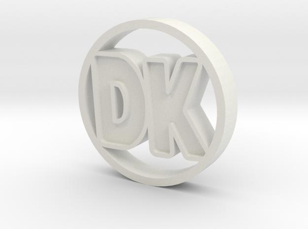 DK Coin 3d printed