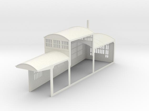 z-160-roundhouse-7-5-deg-left-side-section-1 in White Natural Versatile Plastic