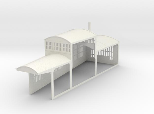z-160-roundhouse-9-deg-left-side-section-1 in White Natural Versatile Plastic