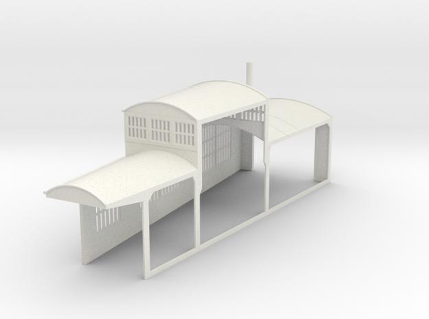 z-160-roundhouse-9-deg-left-side-section-open-1 in White Natural Versatile Plastic