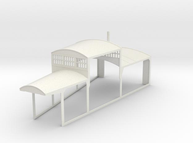z-160-roundhouse-15-deg-mid-section-open-1 in White Natural Versatile Plastic