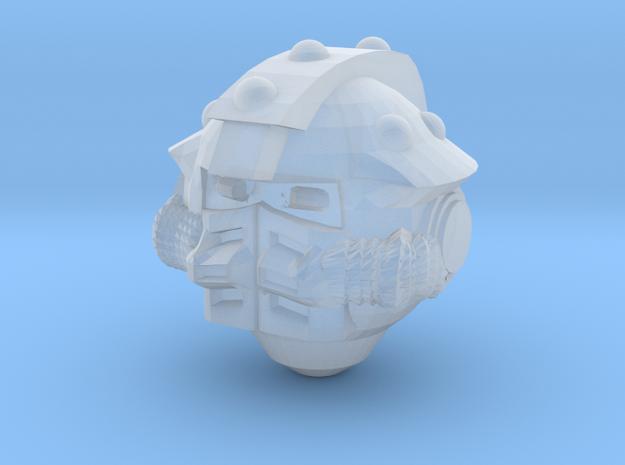 Iron Raven Helmet in Smoothest Fine Detail Plastic