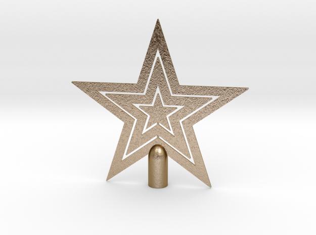 "Star tree topper Christmas -Medium 16cm 6¼"" Strong"