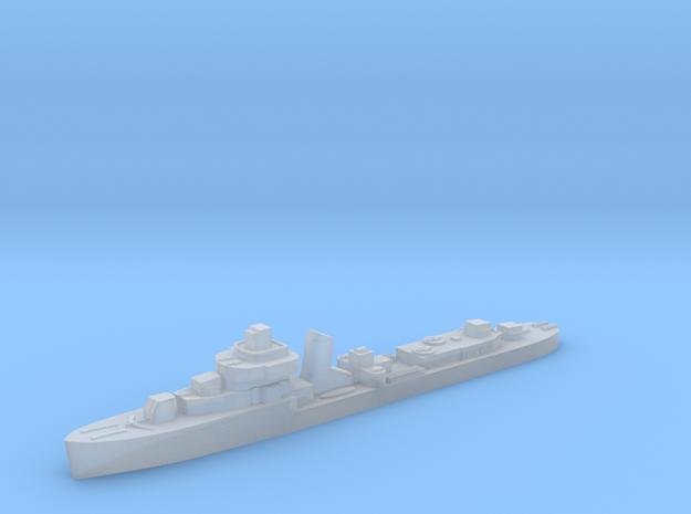 Brazilian Ajuricaba destroyer 1:3000 WW2 in Smoothest Fine Detail Plastic