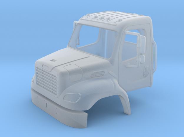 Freightliner 2 Door Open Window Cab With Bumper 1- in Smooth Fine Detail Plastic