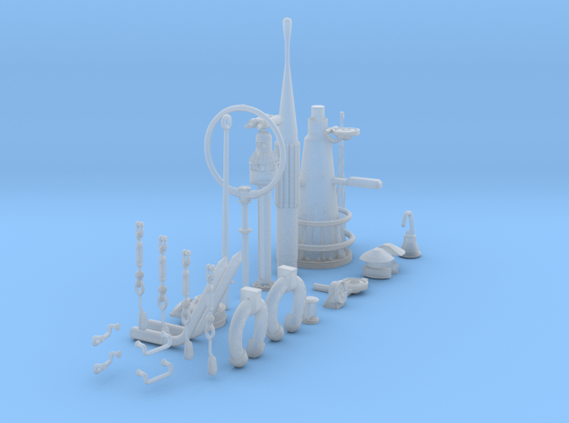 1/32 DKM U-Boot VIIC Conning Tower Detail KIT