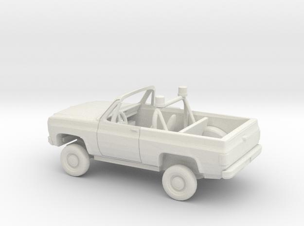 1/72 1973-79 Chevrolet Blazer Conv. Police Kit in White Natural Versatile Plastic