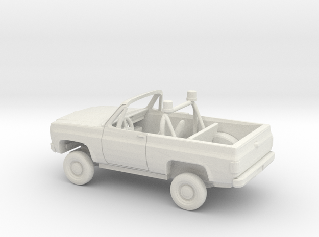 1/72 1973-79 Chevrolet Blazer Conv. Police Kit in White Natural Versatile Plastic