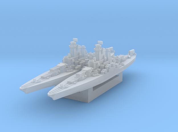 USS Tennessee 1945 1/4800 in Smooth Fine Detail Plastic