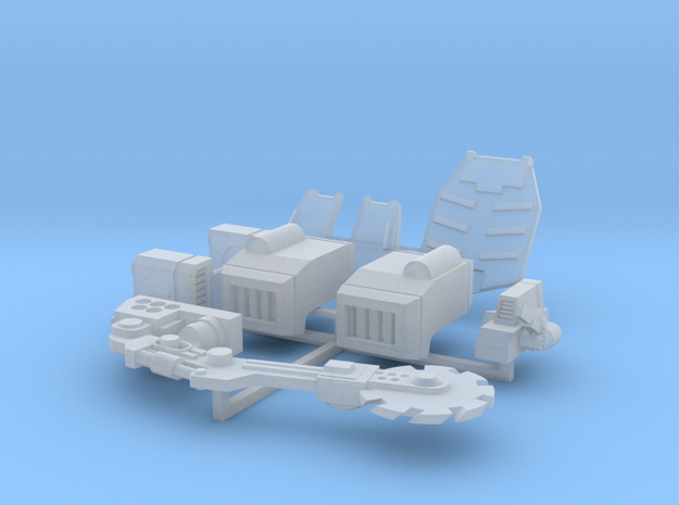 Codiac type remodeling set in Smooth Fine Detail Plastic