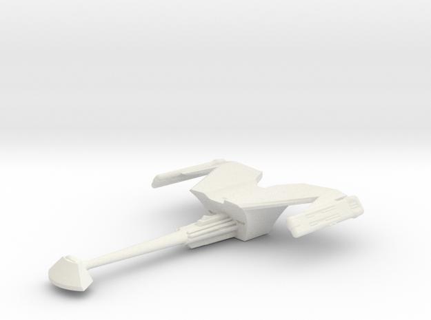 Klingon D18 in White Natural Versatile Plastic