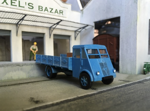 1:87 Renault AHN (ridelles) in Smooth Fine Detail Plastic