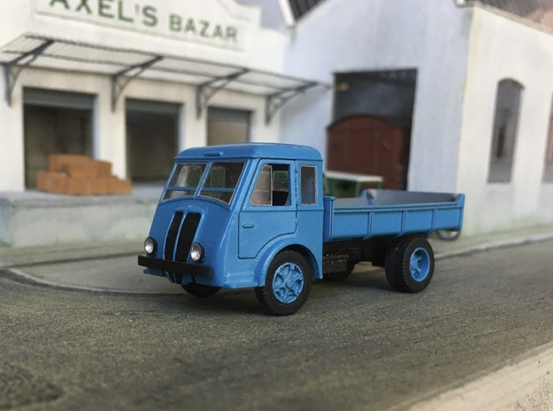 Renault AGR 1937-1941 in Smooth Fine Detail Plastic