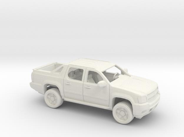 1/72 2007-13 Chevrolet Avalanche LTZ Kit in White Natural Versatile Plastic