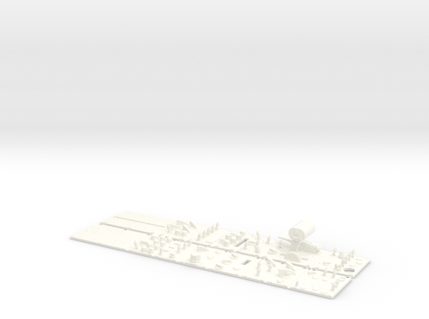 SIDE BOARDS A4 CARF in White Processed Versatile Plastic