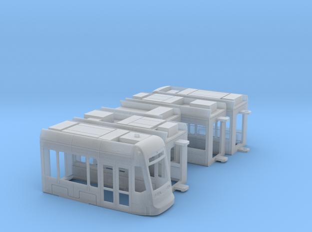Mainz Variobahn in Smooth Fine Detail Plastic: 1:120 - TT