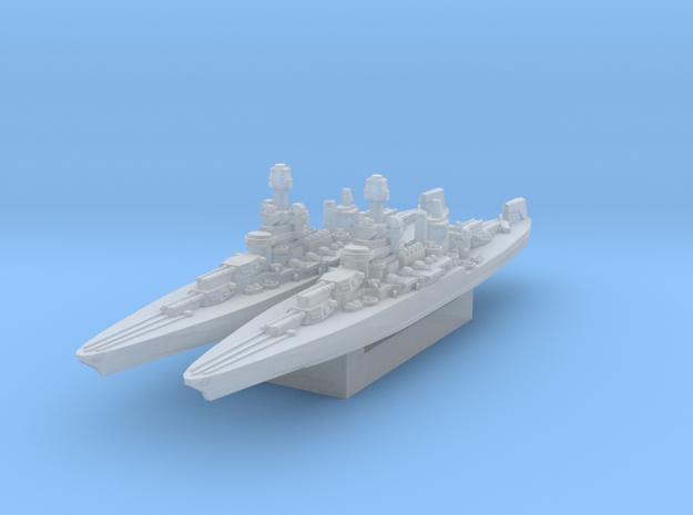 Colorado Battleship 1945 1/4800 in Smooth Fine Detail Plastic