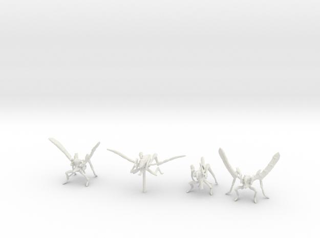 Flyers Arachnids in White Natural Versatile Plastic
