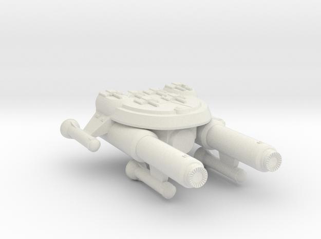 3125 Scale Seltorian Gunboat/PF Tender MGL in White Natural Versatile Plastic
