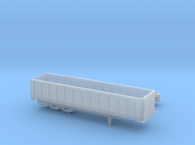 1:160 N Scale 35' East 3-Axle Dump Trailer in Frosted Ultra Detail