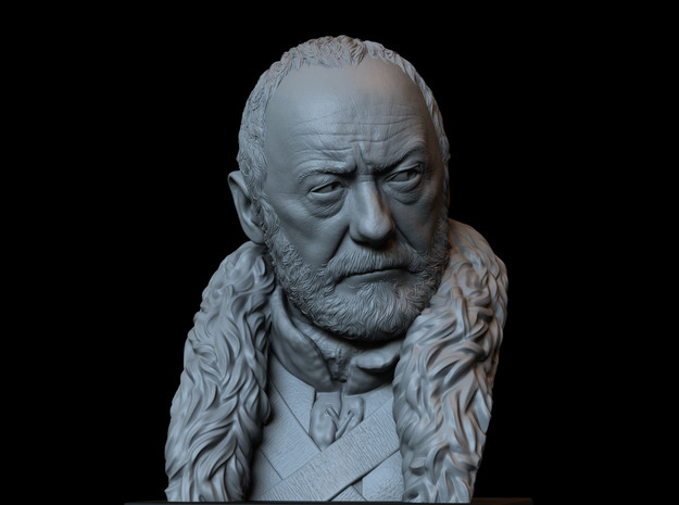 Davos Seaworth from Game of Thrones in White Natural Versatile Plastic