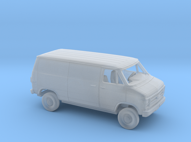 1/87 1979-83 Chevy G Closed Sliding SideSplit Rear in Smooth Fine Detail Plastic
